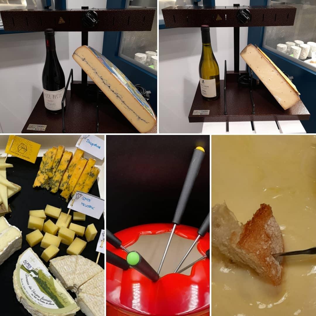 Raclette, morbier ,fondue,plateau... avec le fromage tout est permis ! RdV dès demain dans votre crèmerie 🤗🧀🤗 #fromages_et_horizons#moijedisçajedisrien #libertéplaisiretgourmandise#lefromagecestlavie - on Instagram